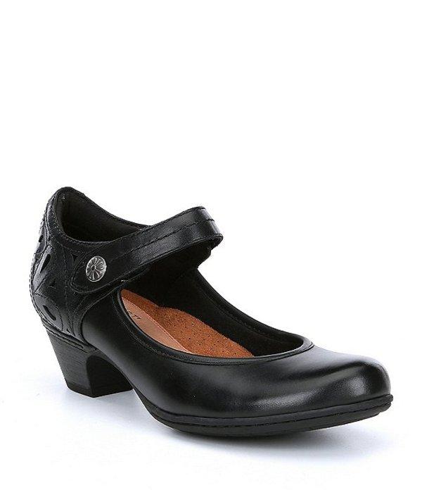 ロックポート レディース ヒール シューズ Cobb Hill Abbott Ankle Strap Pumps Black