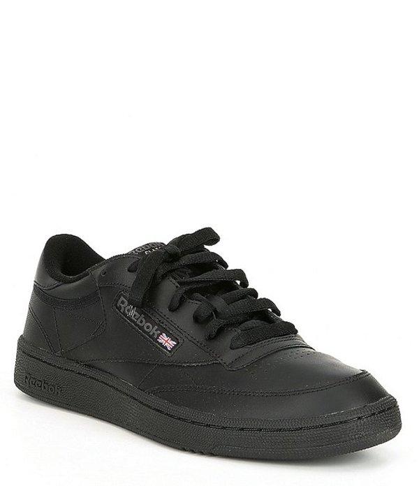 リーボック メンズ スニーカー シューズ Men's Club C 85 Sneaker Black/Charcoal