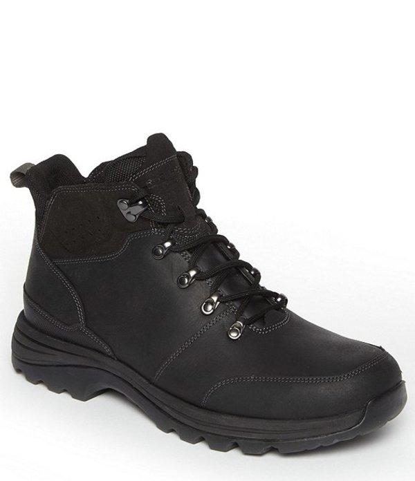ロックポート メンズ ブーツ・レインブーツ シューズ Men's XCS CS Waterproof Leather Mudguard Boot BLACK