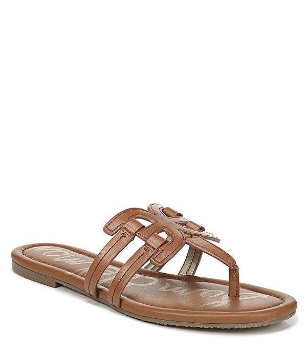 サムエデルマン レディース サンダル シューズ Cara Leather Double E Sandals Saddle
