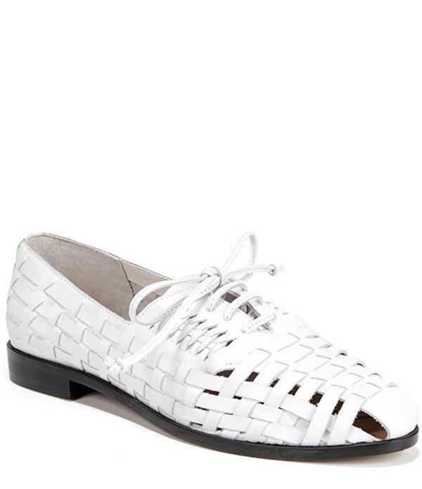手数料安い サムエデルマン Lace レディース オックスフォード シューズ White Rishel Woven Leather Lace Rishel Up Oxfords Bright White, 淡路島のこだわりアイス Gエルム:c72605cc --- tringlobal.org