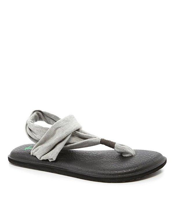 サヌーク レディース サンダル シューズ Yoga Sling Sandals Grey