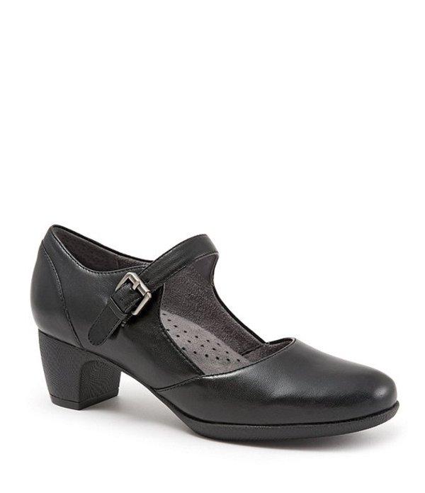 ソフトウォーク レディース パンプス シューズ Irish II Mary Jane Block Heel Pumps Black