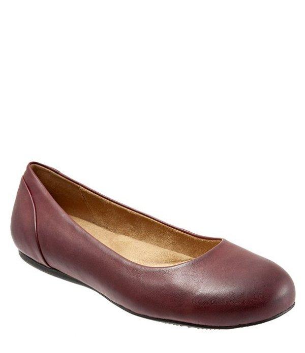 ソフトウォーク レディース パンプス シューズ Sonoma Leather Ballet Flats Burgundy