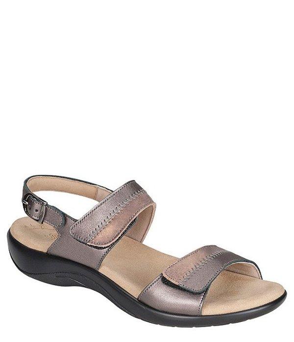 サス レディース サンダル シューズ Nudu Two-Toned Leather Sandals Dusk