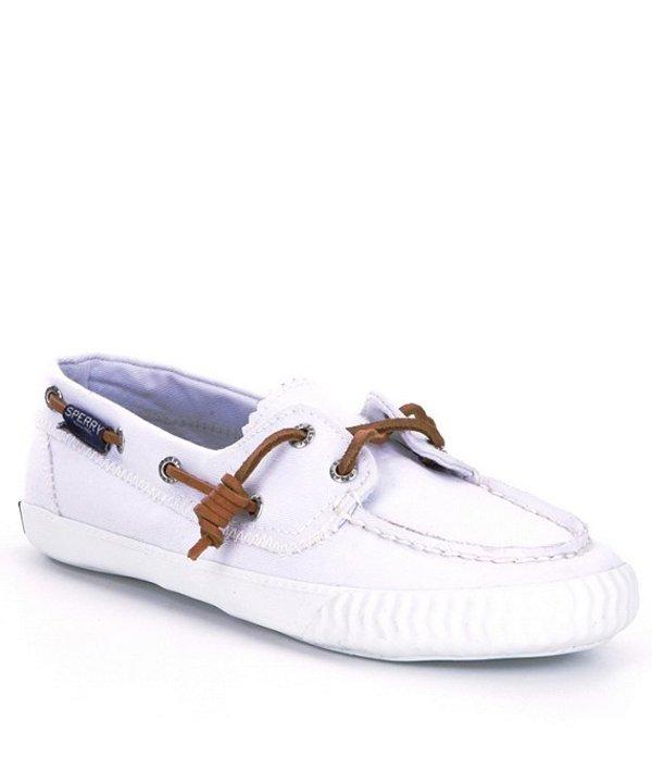 スペリー レディース デッキシューズ シューズ Women's Sayel Away Boat Shoes White Washed