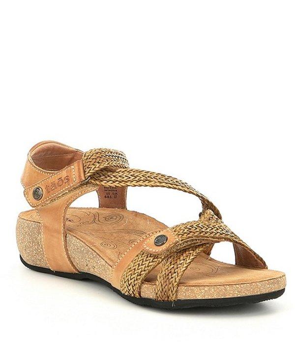 タオスフットウェア レディース サンダル シューズ Trulie Wedge Sandals Camel