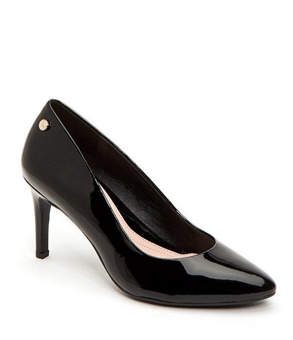 タリンローズ レディース ヒール シューズ Tamara Patent Leather Pumps Black