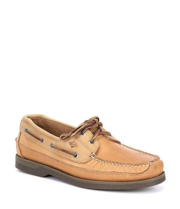 スペリー メンズ デッキシューズ シューズ Men's Mako 2-Eye Boat Shoe Oak