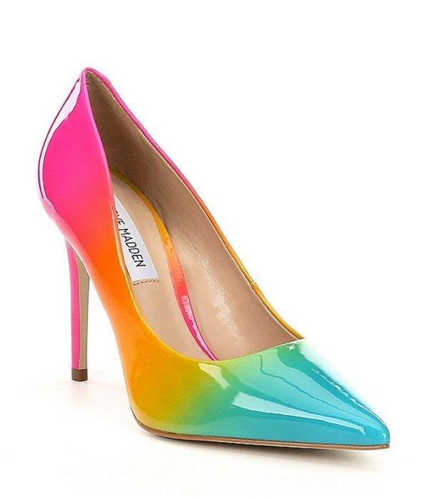 スティーブ マデン レディース ヒール シューズ Zaney Rainbow Dress Pumps Rainbow Multi
