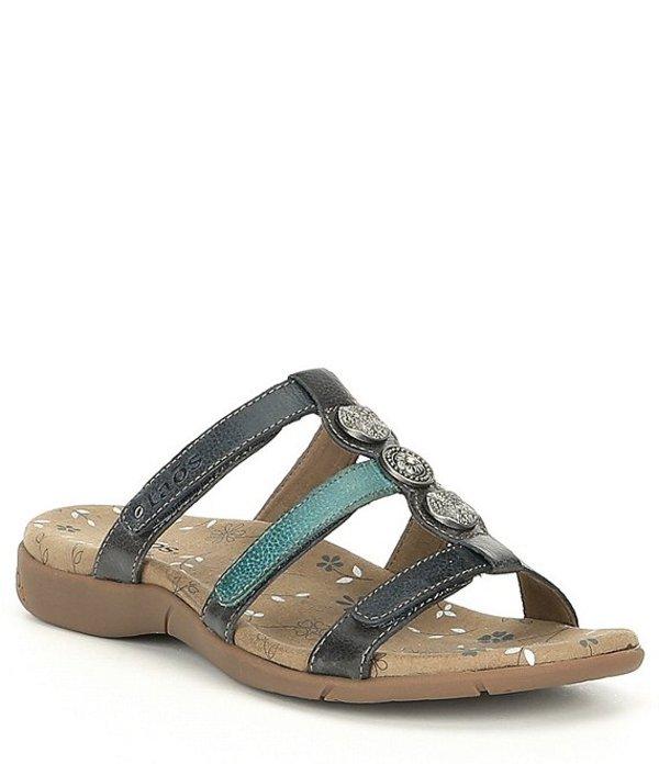 タオスフットウェア レディース サンダル シューズ Prize 3 Leather Sandal Blue Multi