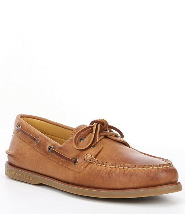 スペリー メンズ デッキシューズ シューズ Men's Gold Authentic Original 2-Eye Boat Shoe Tan
