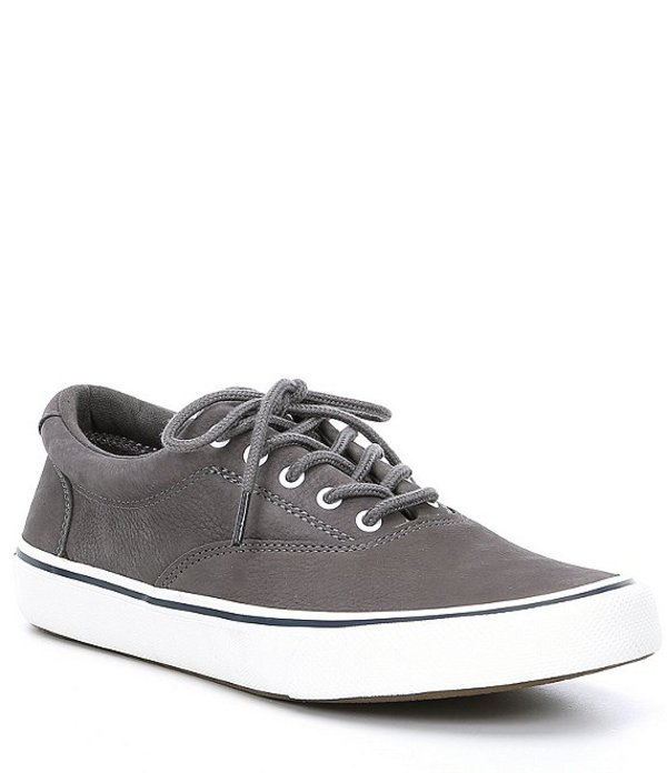 スペリー メンズ スニーカー シューズ Men's Striper II CVO Washable Sneaker Grey
