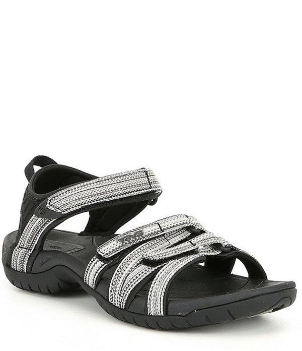 テバ レディース サンダル シューズ Tirra Womens Sandals Black White