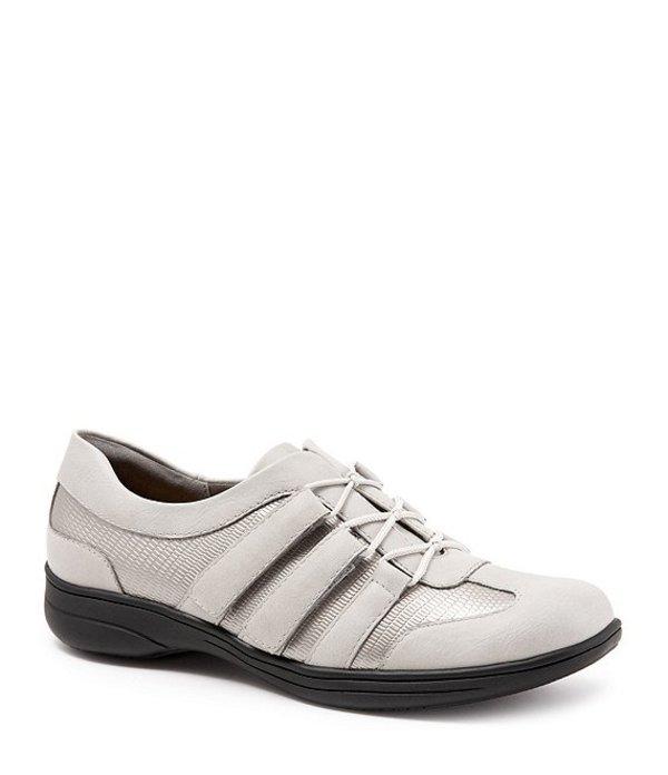トロッターズ レディース スニーカー シューズ Joy Patent Suede Leather Walking Shoes Pewter