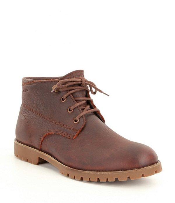ウルヴァリン メンズ ブーツ・レインブーツ シューズ Cort Men's Leather Waterproof Lace-Up Short Chukka Boots Brown