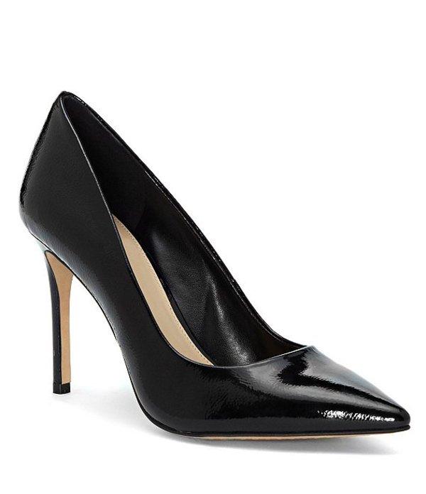 ヴィンスカムート レディース ヒール シューズ Savilla Patent Leather Dress Pumps Black