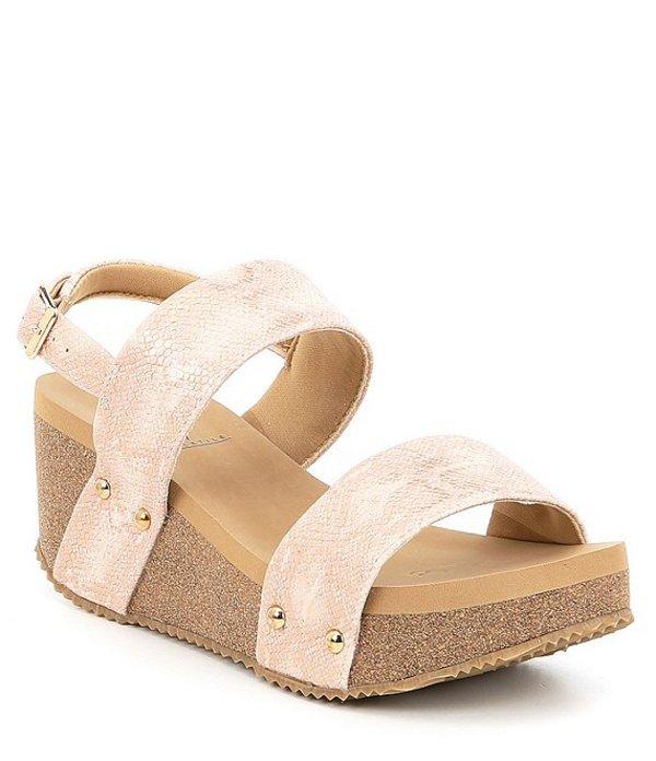 ボラティル レディース サンダル シューズ Summer Love Banded Sling Wedge Sandals Blush