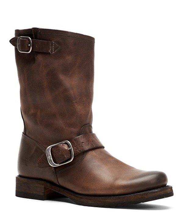 フライ レディース ブーツ・レインブーツ シューズ Veronica Leather Short Boots Stone