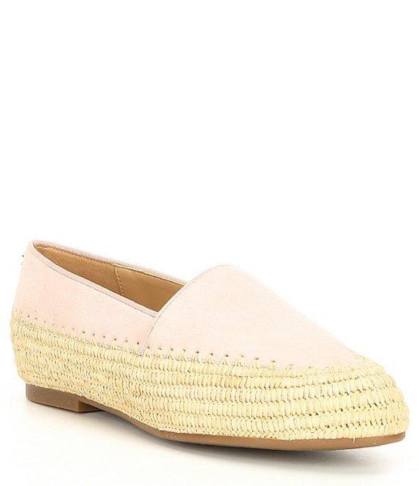 マイケルコース レディース サンダル シューズ Bahia Suede Slip On Shoes Blush Pink