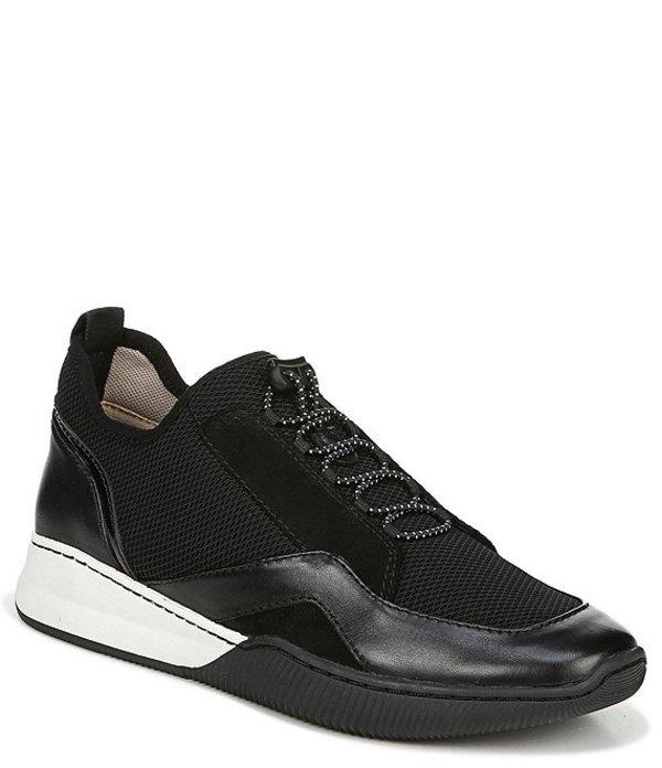 ナチュライザー レディース スニーカー シューズ Unison Leather & Suede Toggle Sneakers Black Leather