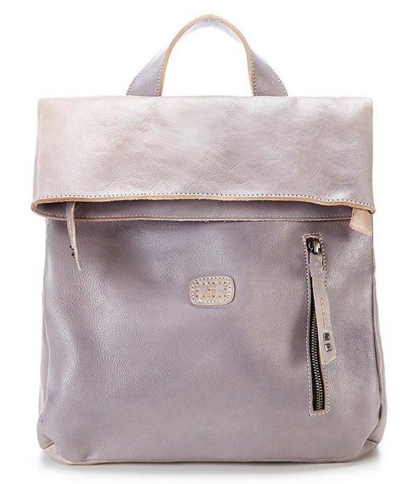 ベッドステュ レディース バックパック・リュックサック バッグ Howie Flapover Backpack Light Grey Glove