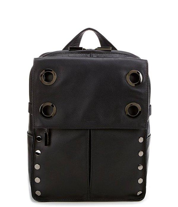 ハミット レディース バックパック・リュックサック バッグ Montana Large Grommet Studded Backpack Black/Gunmetal