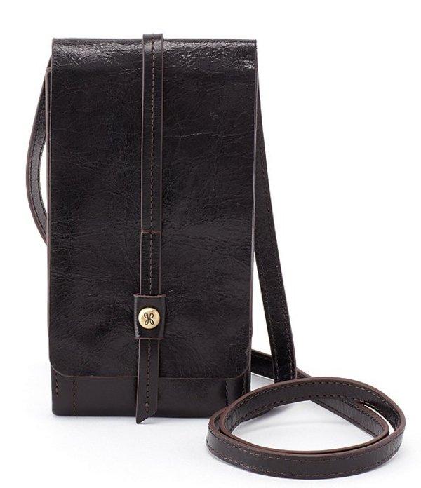 ホボ レディース ショルダーバッグ バッグ Token Mini Leather Crossbody Black