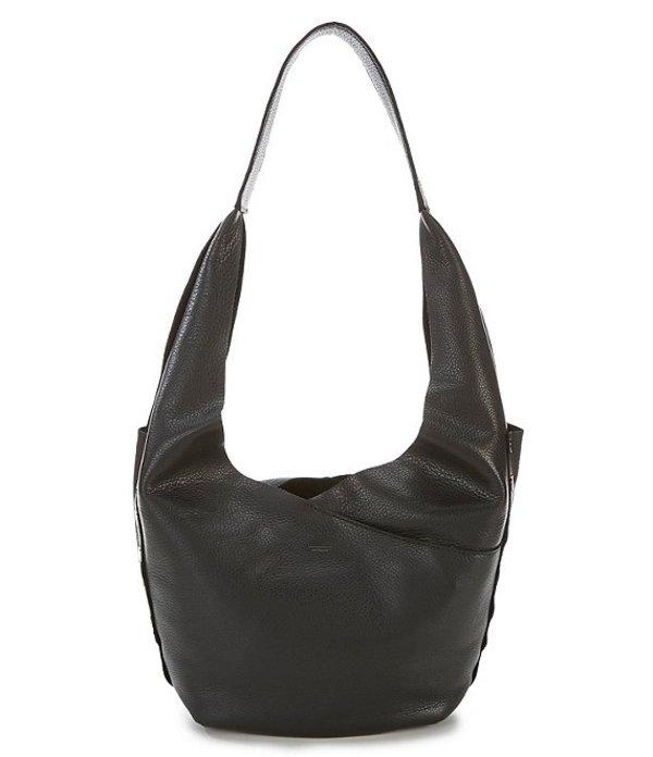 ハミット レディース ショルダーバッグ バッグ Tom Snap Leather Hobo Bag Black/Gunmetal