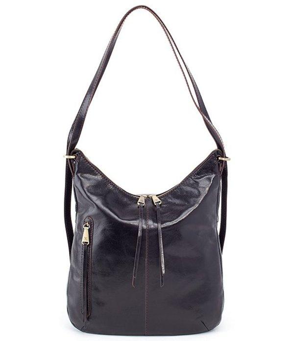 ホボ レディース ショルダーバッグ バッグ Merrin Convertible Hobo Bag Black