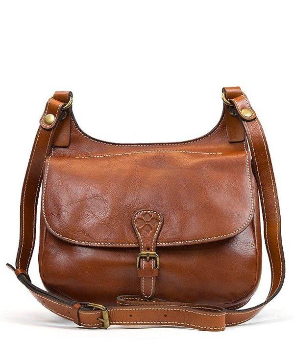 パトリシアナシュ レディース ショルダーバッグ バッグ Heritage Collection London Saddle Bag Tan
