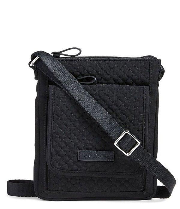 ベラブラッドリー レディース ハンドバッグ バッグ Iconic RFID Mini Hipster Quilted Crossbody Classic Black
