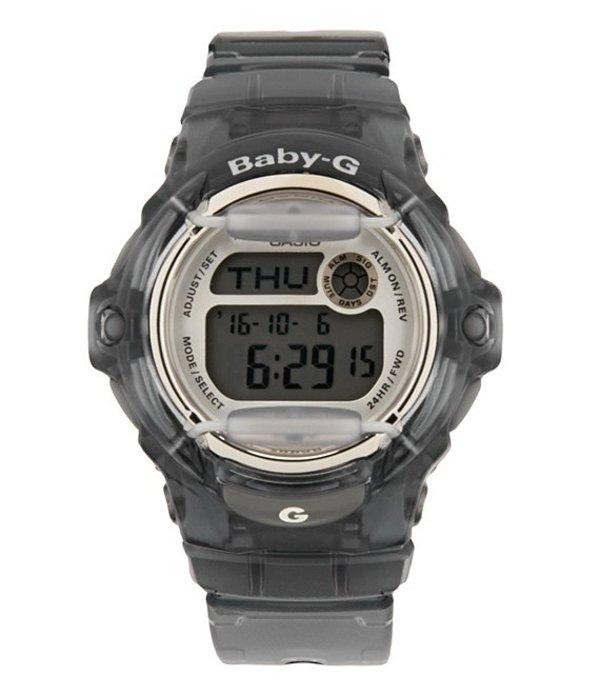 ベビージー レディース 腕時計 アクセサリー Grey Jelly Resin Digital World Time Watch Grey
