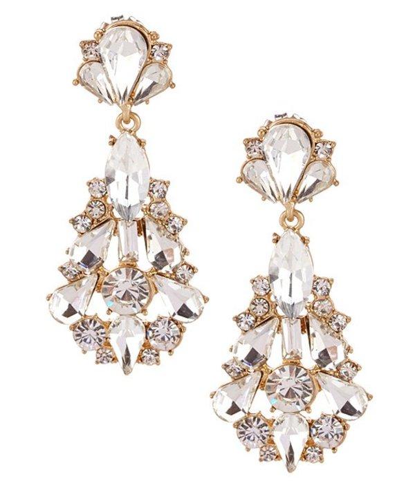 ベルバッジリーミシュカ レディース ピアス・イヤリング アクセサリー Jonette Chandelier Statement Earrings Gold/Crystal