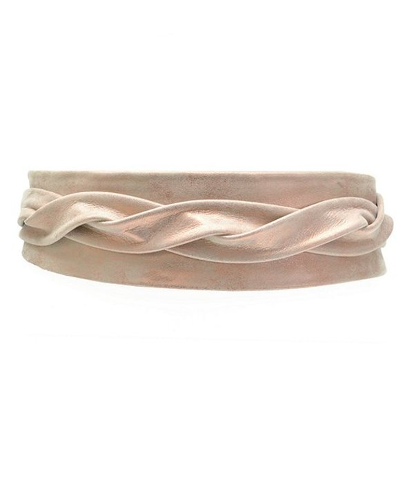 アダ レディース ベルト アクセサリー Classic Metallic Wrap Belt Rose Shimmer