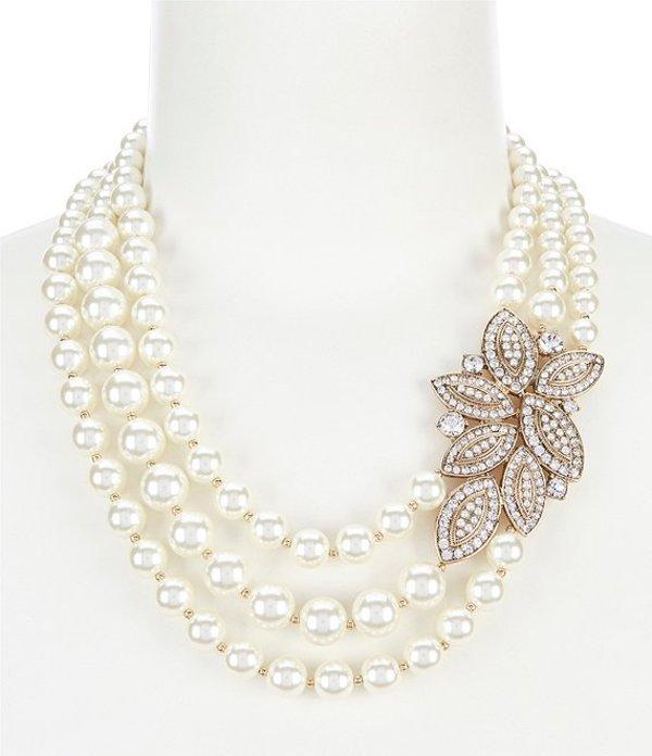 アンクライン レディース ネックレス・チョーカー アクセサリー Blanc Pearl Necklace Pearl