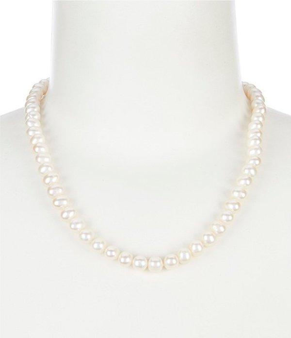 セザンヌ レディース ネックレス・チョーカー アクセサリー 7mm Fresh Water Pearl Collar Necklace White