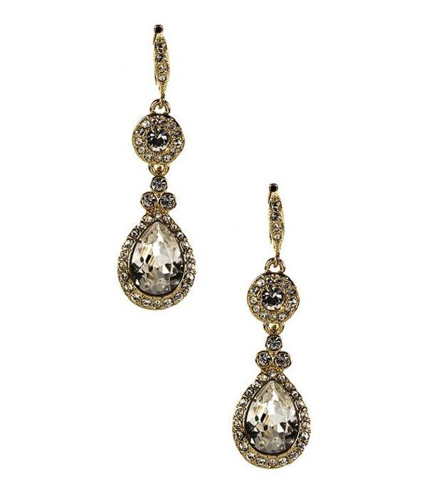 ジバンシー レディース ピアス・イヤリング アクセサリー Crystal Drop Earrings Gold/Crystal