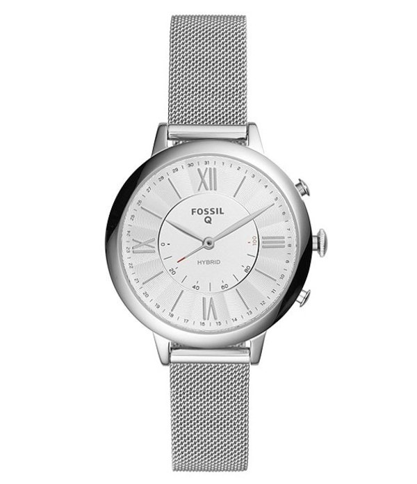 フォッシル レディース 腕時計 アクセサリー Q Jacqueline Hybrid Smartwatch Silver