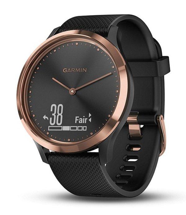ガーミン メンズ 腕時計 アクセサリー Vivomove HR Hybrid Smartwatch Black