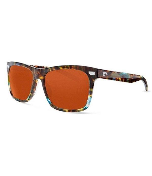 コスタ メンズ サングラス・アイウェア アクセサリー Aransas Polarized Sunglasses Shiny Ocean Tortoise