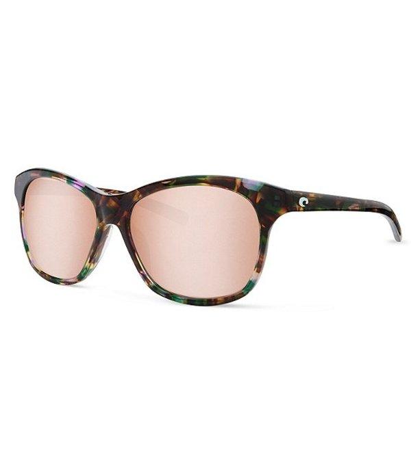 コスタ レディース サングラス・アイウェア アクセサリー Sarasota Polarized Sunglasses Shiny Abalone