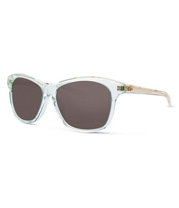コスタ レディース サングラス・アイウェア アクセサリー Sarasota Shiny Seafoam Polarized Sunglasses Shiny Seafoam