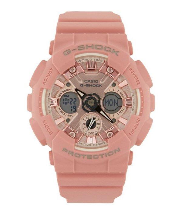 ジーショック レディース 腕時計 アクセサリー S Series Pastel Rose Pink Ana/Digi Watch Pastel Rose Pink