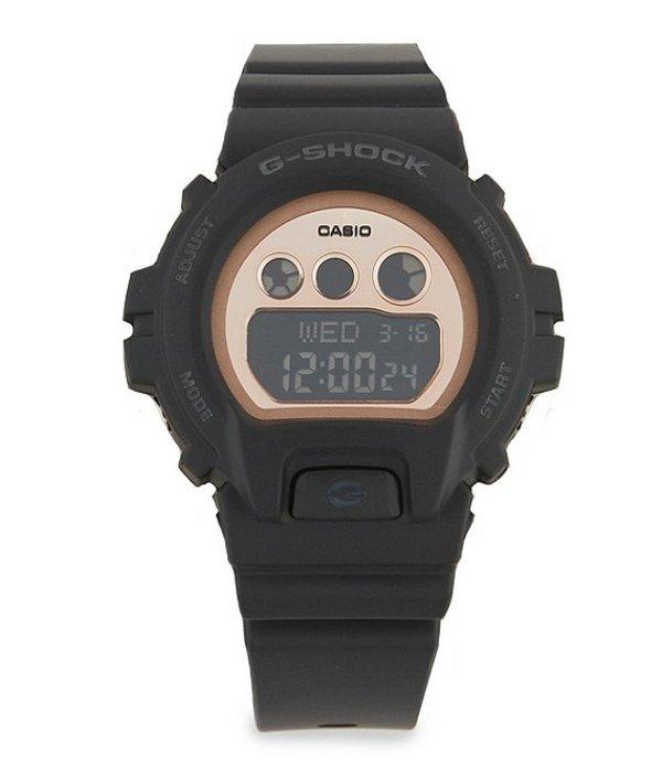 ジーショック レディース 腕時計 アクセサリー Digital Resin Watch Black