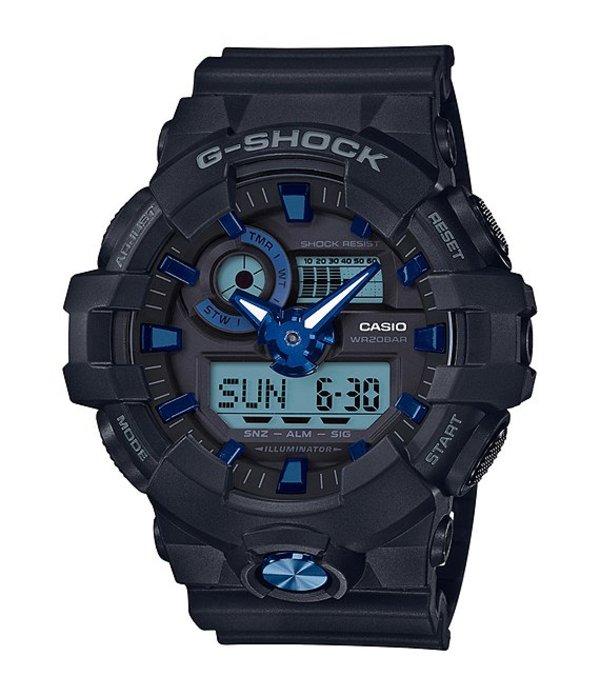 ジーショック メンズ 腕時計 アクセサリー Ana-Digi Watch Black