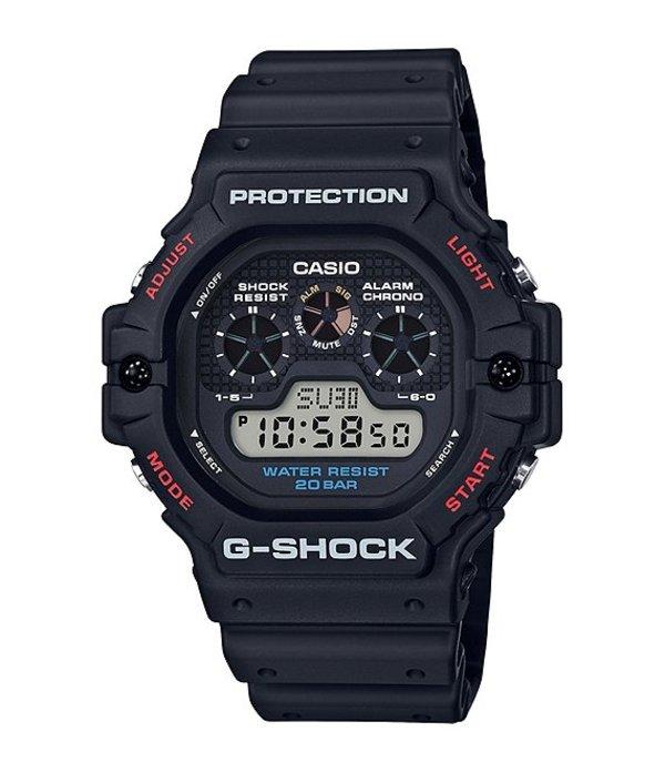 ジーショック メンズ 腕時計 アクセサリー Digital Black Shock Resistant Watch Black