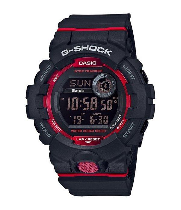 ジーショック メンズ 腕時計 アクセサリー Digital Black & Red Shock Resistant Watch Black Red
