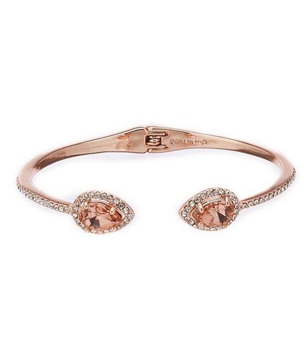 ジバンシー レディース ブレスレット・バングル・アンクレット アクセサリー Pave Pear Cuff Bracelet Rose Gold