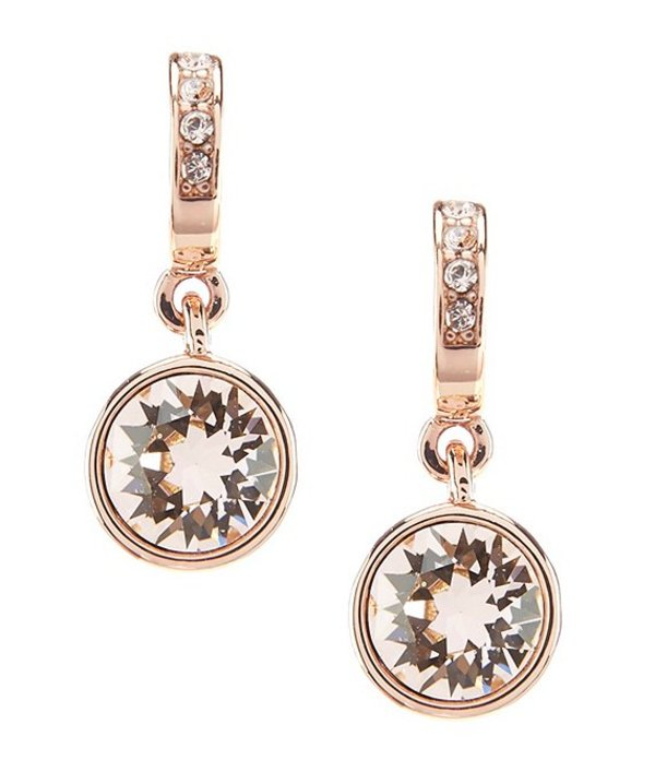 ジバンシー レディース ピアス・イヤリング アクセサリー Small Drop Earrings Rose Gold/Crystal